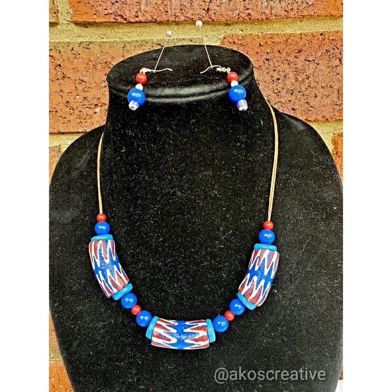 Krobo necklace