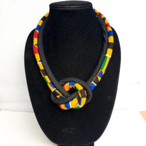 Kente Rope Necklace