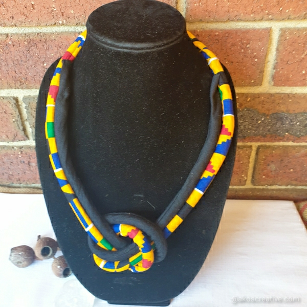 Fabric Rope Necklace