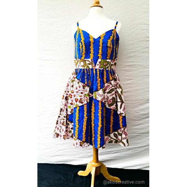 Ladies Party Dress Cotton Summer