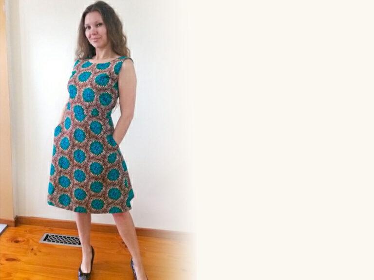 Ladies Summer Dresses Cotton Cocktail Party