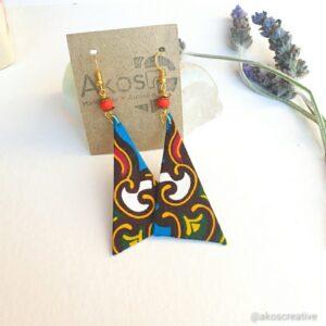 Fabric Earrings