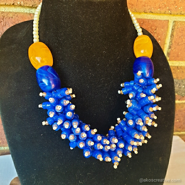 Beaded Necklace Cluster