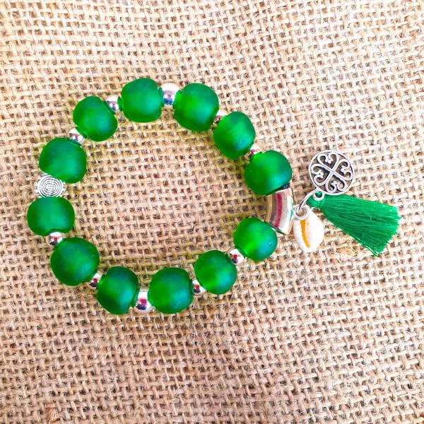 krobo beads bracelet