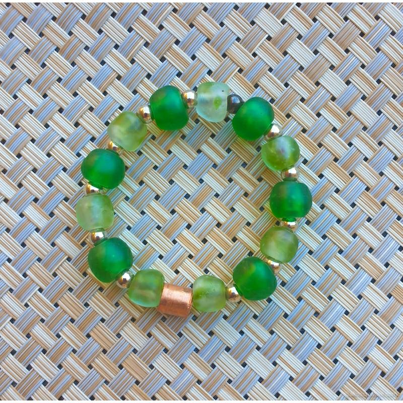 Recycled Glass beads, Krobo beads