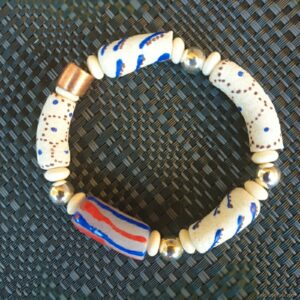 Krobo recyled glass beads