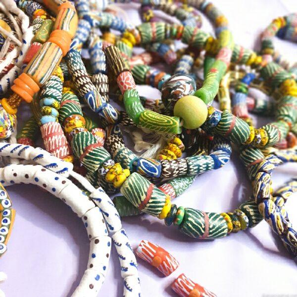 Krobo Beads recycled glass beads