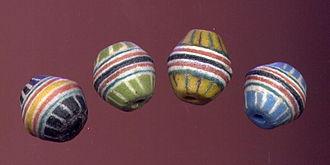Powedered Glass Krob beads